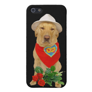 Funny Valentine LOVE Lab Cover For iPhone 5/5S