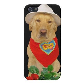 Funny Valentine LOVE Lab iPhone 5 Cases