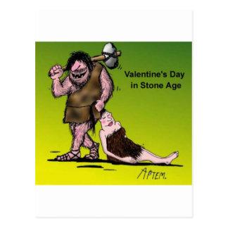 Funny Valentine's Day Comic Post Card