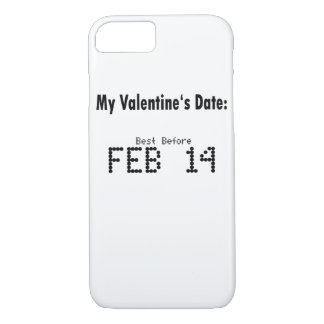 Funny Valentines Day DATE - iPhone Case