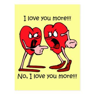 Funny Valentine's Day Postcard