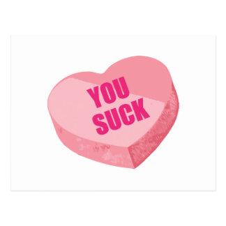 Funny Valentines Day Postcard
