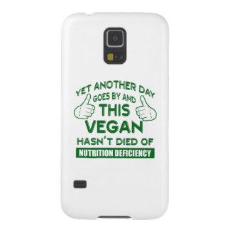 Funny Vegan T-shirt Galaxy S5 Case