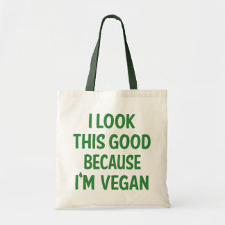 Funny Vegan Vegetarian Veganism Animal Lover Quote Tote Bag