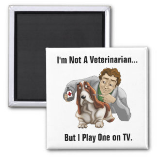 Funny Veterinarian Magnet