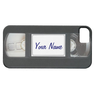 Funny Vintage 80s Retro VHS Cassette Tape iPhone iPhone 5 Cover