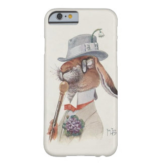 Funny Vintage Anthropomorphic Rabbit Barely There iPhone 6 Case