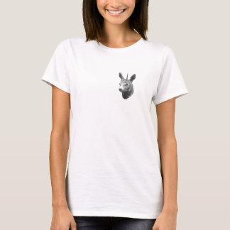 Funny vintage derpy deer illustration t-shirt