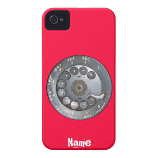 Funny Vintage dial phone Case-Mate iPhone 4 Case