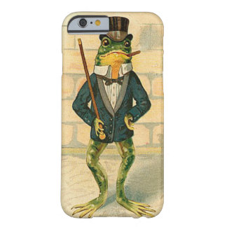 Funny Vintage Frog Barely There iPhone 6 Case
