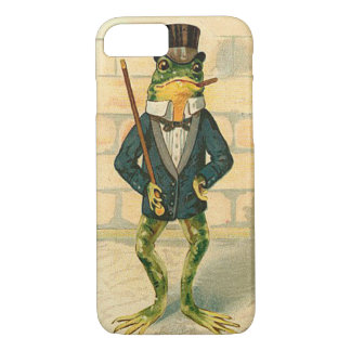 Funny Vintage Frog iPhone 7 Case