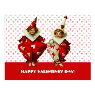 Funny Vintage Kids Valentine's Day Postcards