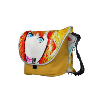 FUNNY VINTAGE PURSE - GoART Fashion Courier Bags