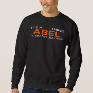 Funny Vintage Style T-Shirt for ABEL