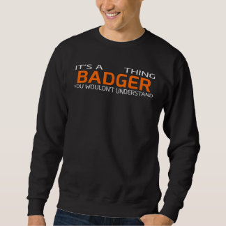 Funny Vintage Style T-Shirt for BADGER