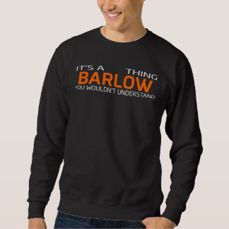 Funny Vintage Style T-Shirt for BARLOW