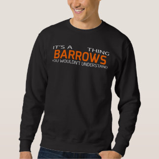Funny Vintage Style T-Shirt for BARROWS