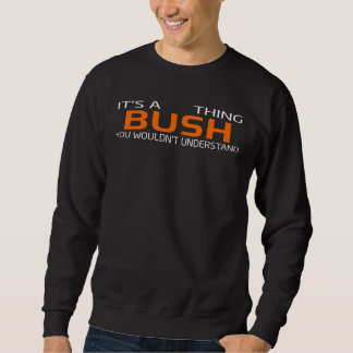 Funny Vintage Style T-Shirt for BUSH