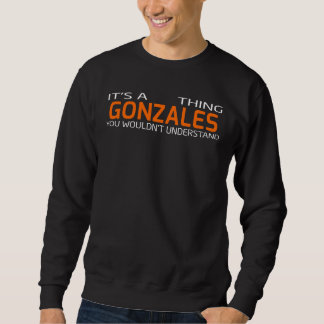 Funny Vintage Style T-Shirt for GONZALES