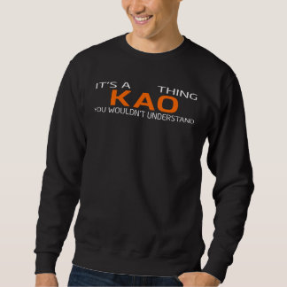 Funny Vintage Style T-Shirt for KAO