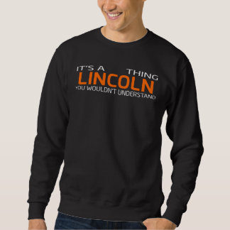 Funny Vintage Style T-Shirt for LINCOLN