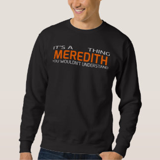 Funny Vintage Style T-Shirt for MEREDITH