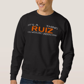 Funny Vintage Style T-Shirt for RUIZ