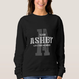 Funny Vintage Style TShirt for ASHBY