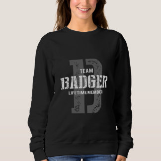 Funny Vintage Style TShirt for BADGER