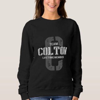 Funny Vintage Style TShirt for COLTON