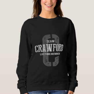 Funny Vintage Style TShirt for CRAWFORD