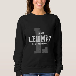 Funny Vintage Style TShirt for LEHMAN
