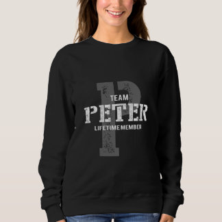 Funny Vintage Style TShirt for PETER