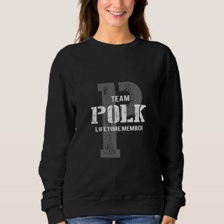 Funny Vintage Style TShirt for POLK