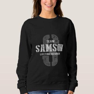Funny Vintage Style TShirt for SAMSON