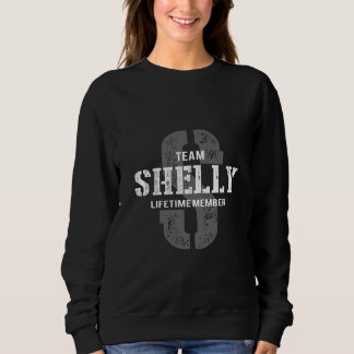Funny Vintage Style TShirt for SHELLY