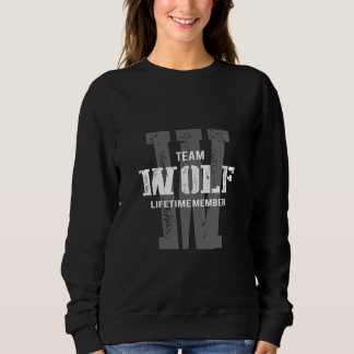 Funny Vintage Style TShirt for WOLF