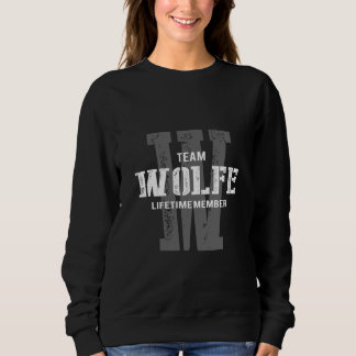 Funny Vintage Style TShirt for WOLFE