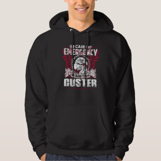 Funny Vintage TShirt For CUSTER