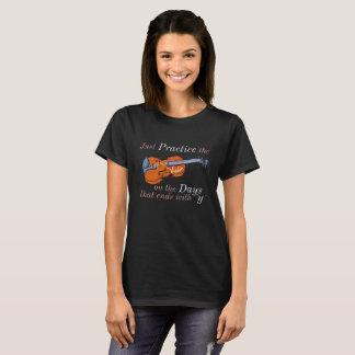 Funny Violin T-shirt