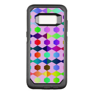 funny vivid pattern 3 (C) OtterBox Commuter Samsung Galaxy S8 Case
