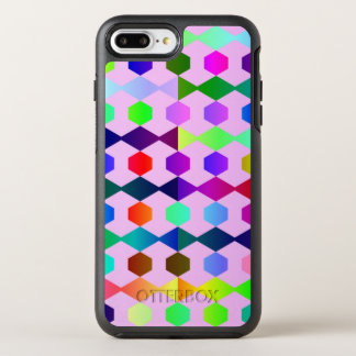 funny vivid pattern 3 (C) OtterBox Symmetry iPhone 7 Plus Case