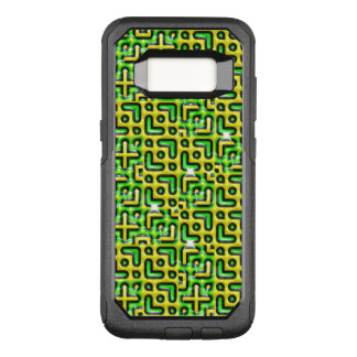 funny vivid pattern 6 (C) OtterBox Commuter Samsung Galaxy S8 Case