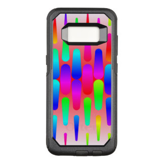 funny vivid pattern 8 (C) OtterBox Commuter Samsung Galaxy S8 Case