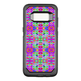 funny vivid pattern 9 (C) OtterBox Commuter Samsung Galaxy S8 Case