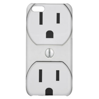Funny Wall Socket Plug G4 Case For iPhone 5C