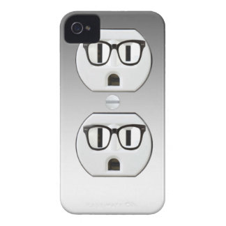 Funny Wall Socket Plug Iphone 4 4S Case-Mate Case