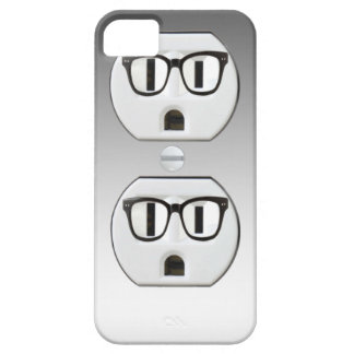 Funny Wall Socket Plug Iphone 5 Case-Mate Case