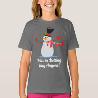 Funny Warm Hug Snowman Christmas | Shirt