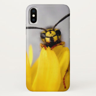 Funny Wasp iPhone X Case